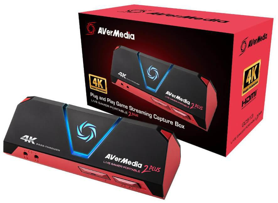 AverMedia LIVE GAMER PORTABLE 2 PLUS 4K GC 513