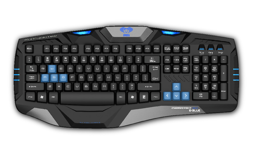 Gaming keyboard - EKM739BK