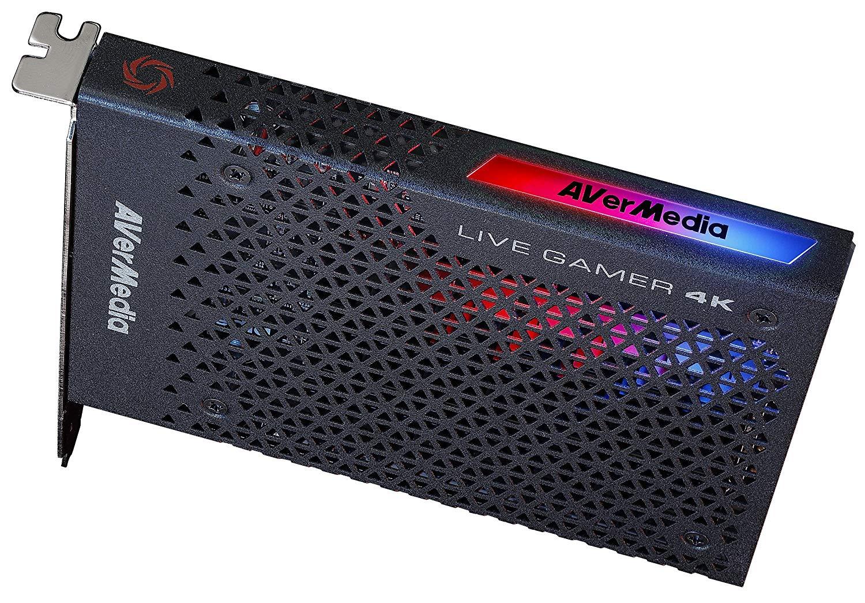 AVerMedia Live Gamer 4K GC573 with GH337 Headset