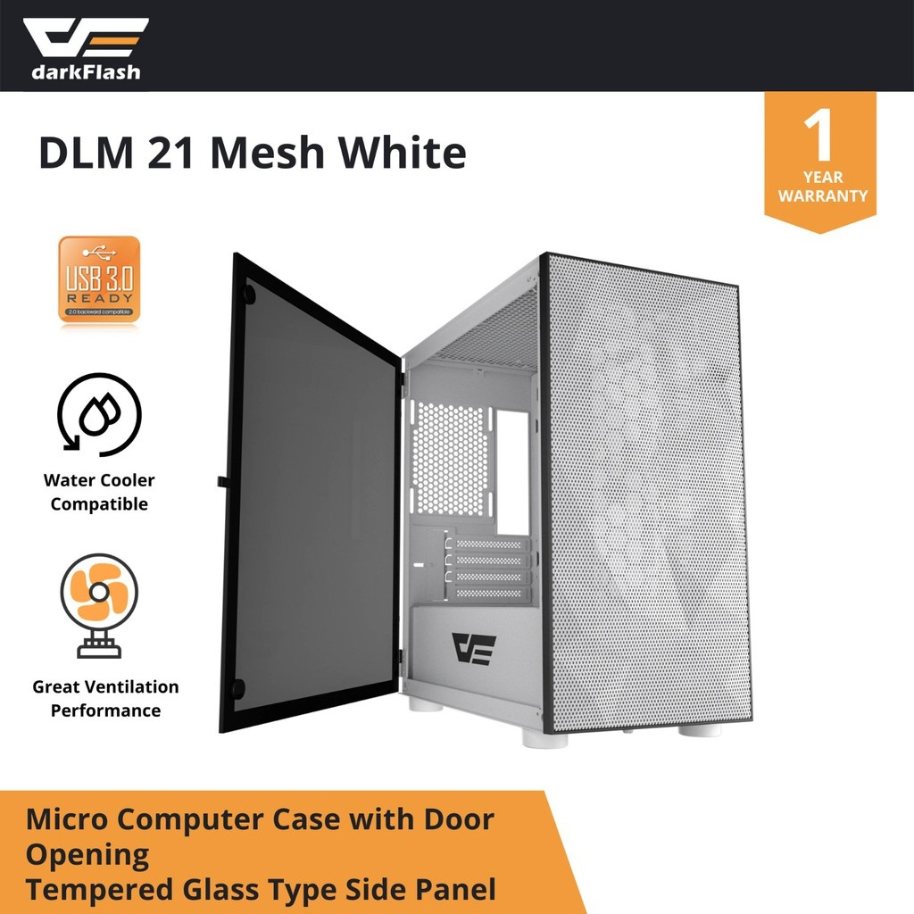 DARKFLASH DLM21 MESH WHITE