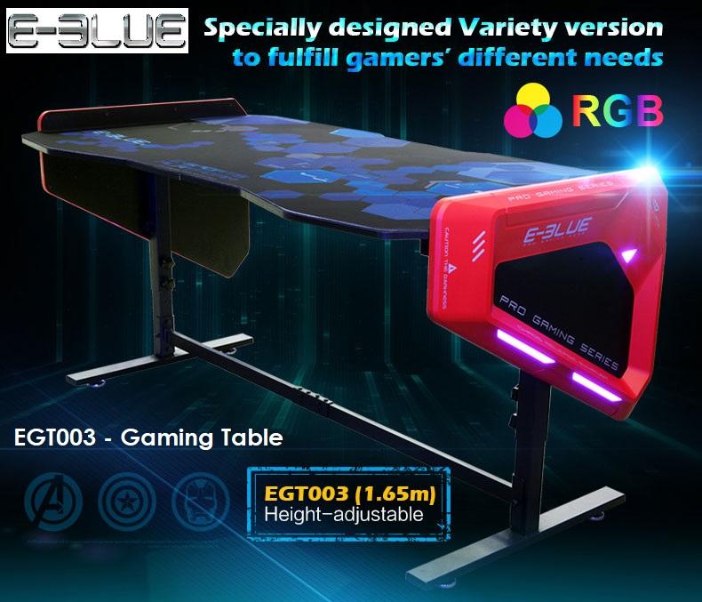E-BLUE GAMING TABLE BLACK