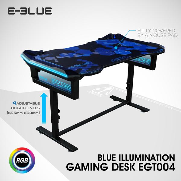 E-BLUE GAMING TABLE