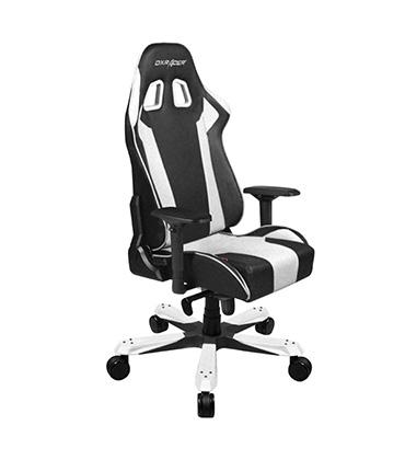DXRacer King Series Gaming Chair Black & White