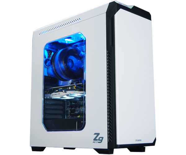 Zalman Z9 neo White mid tower computer case