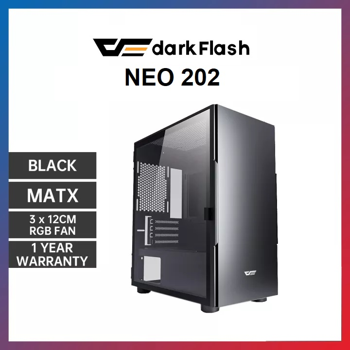 DARKFLASH NEO 202 BLACK