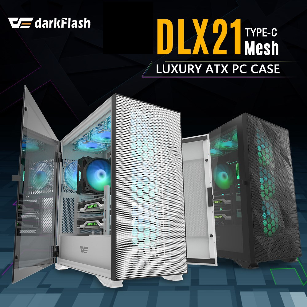 DARKFLASH DLX21 MESH WHITE