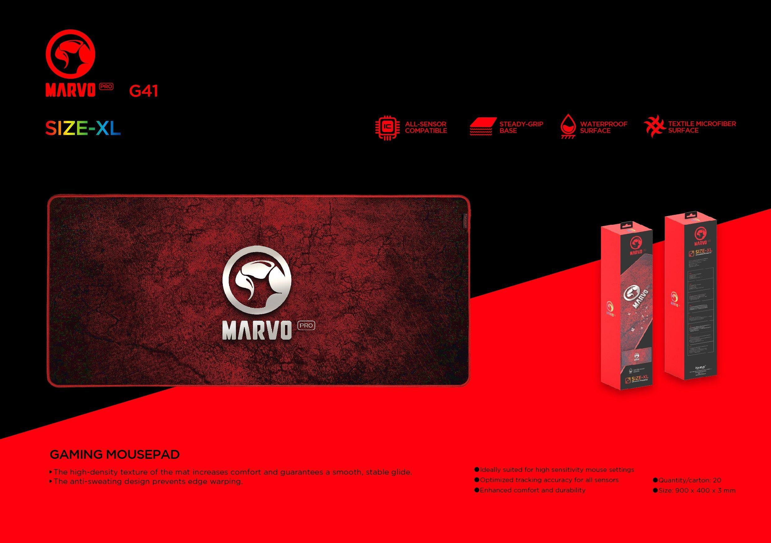 MARVO G41 GAMING MOUSE PAD