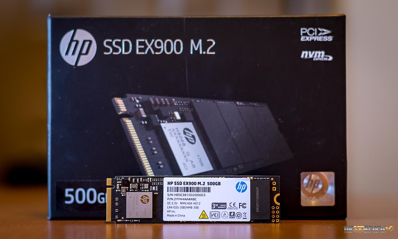 HP EX 900 PRO 500GB SSD M.2 NVMe